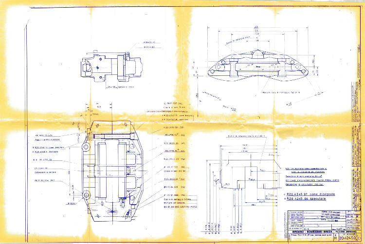 Camaro Tech Brembo Quot Firehawk Quot Performance Brake System For Third Gen Camaro
