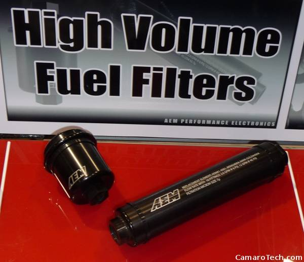 AEM high volume fuel filters