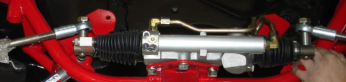 Appleton power rack and pinion steering unit