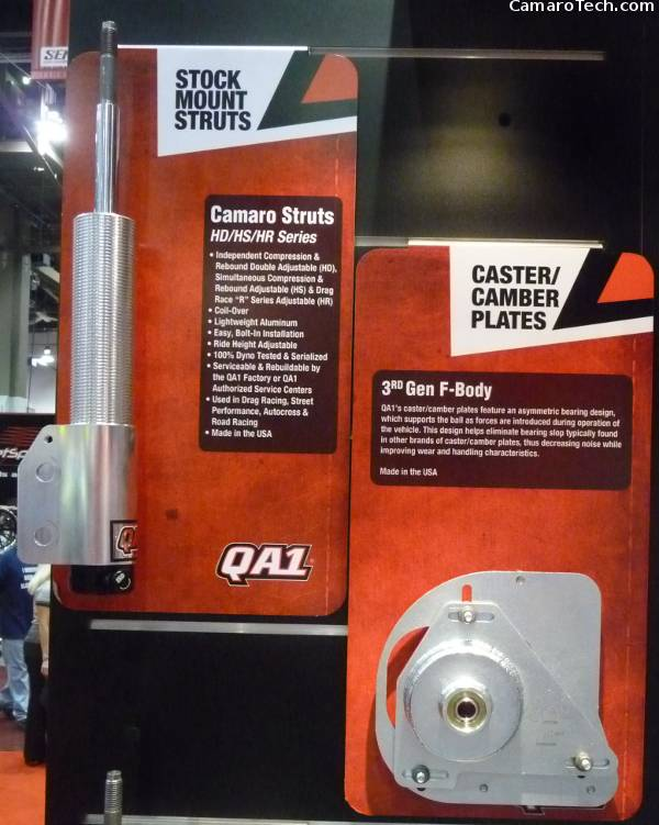 QA1 struts/shocks and Caster/Camber plate
