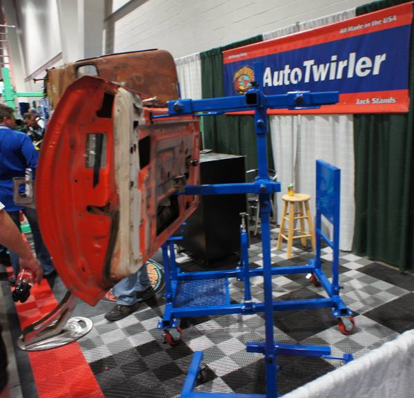 automotive paint stands